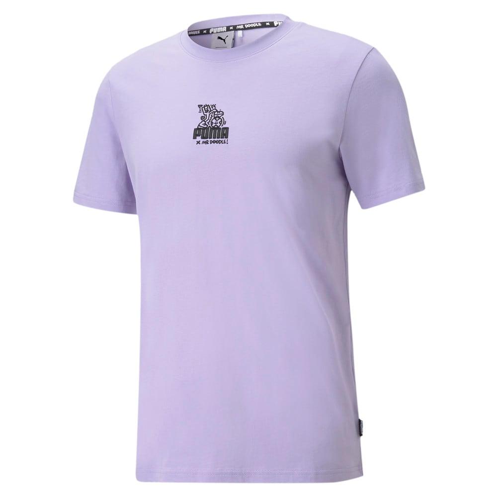 Görüntü Puma PUMA x MR DOODLE Relaxed Erkek T-shirt #1