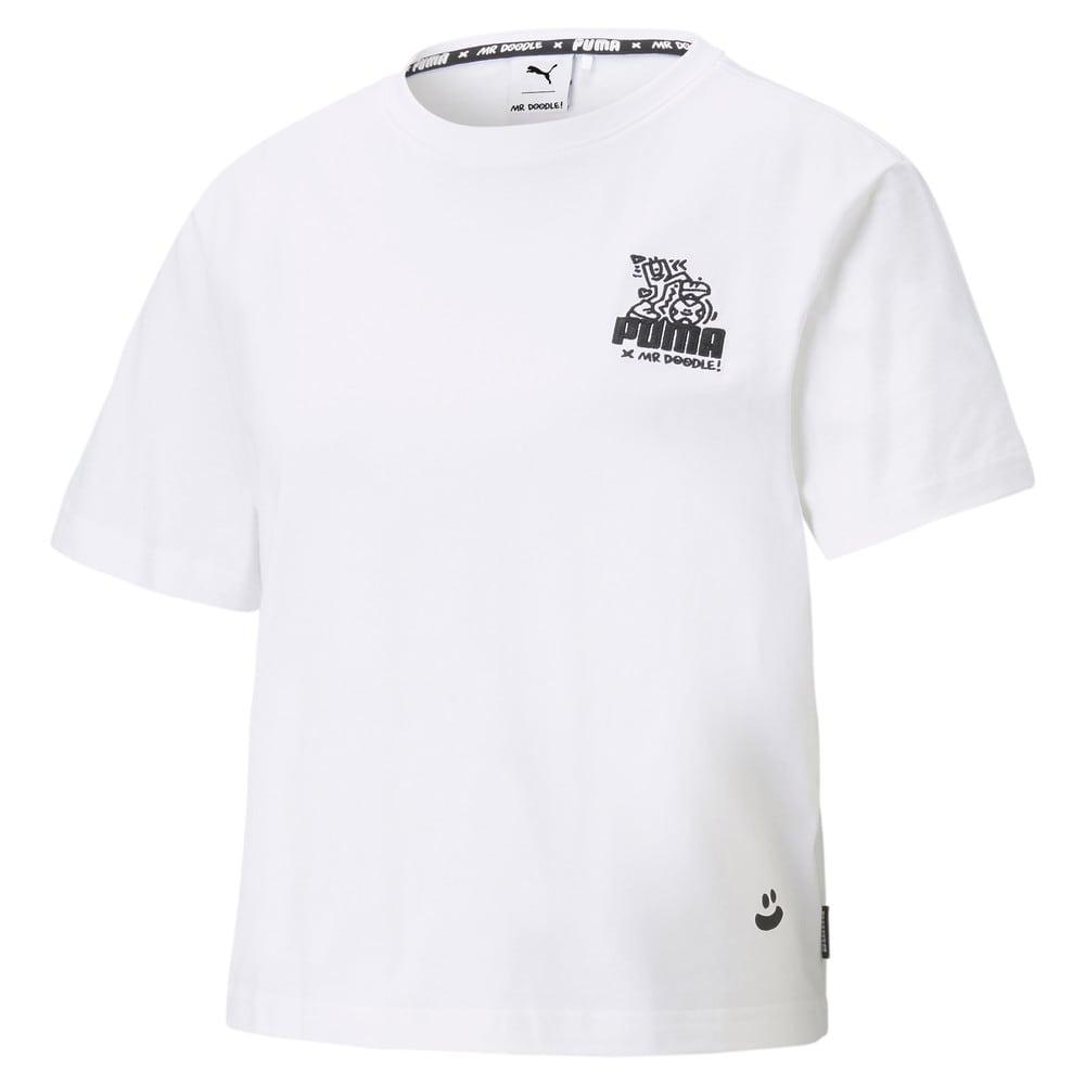 Image PUMA PUMA x MR DOODLE Camiseta Cropped Feminina #1