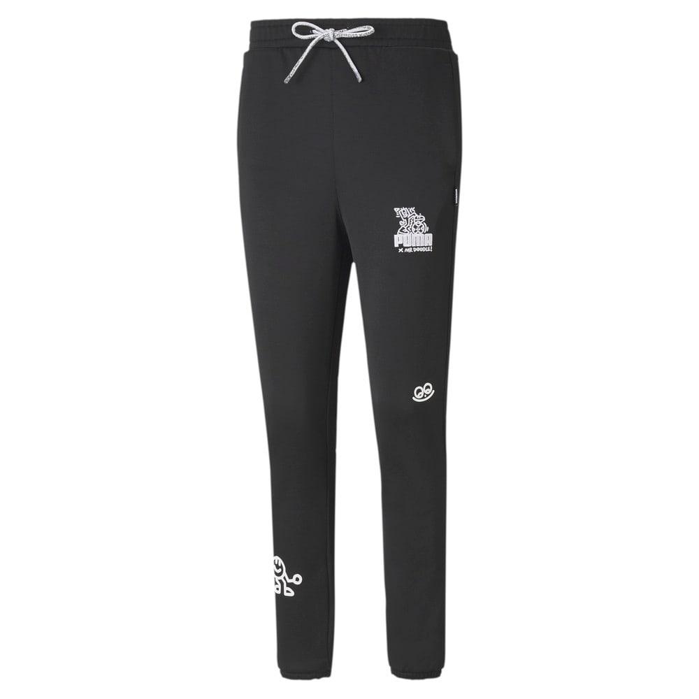 Imagen PUMA Pantalones deportivos para mujer PUMA x MR DOODLE #1