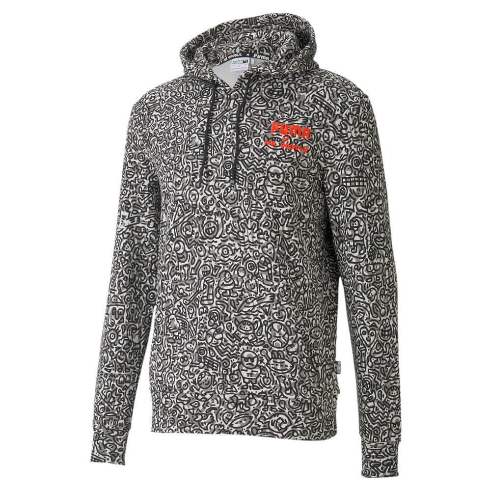 Зображення Puma Толстовка PUMA x MR DOODLE All-Over Print Hoodie #1