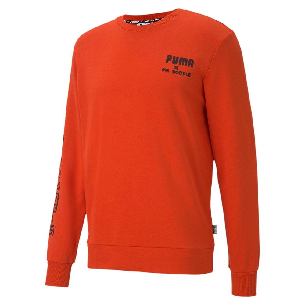 Зображення Puma Толстовка PUMA x MR DOODLE Crew Neck Sweater #1