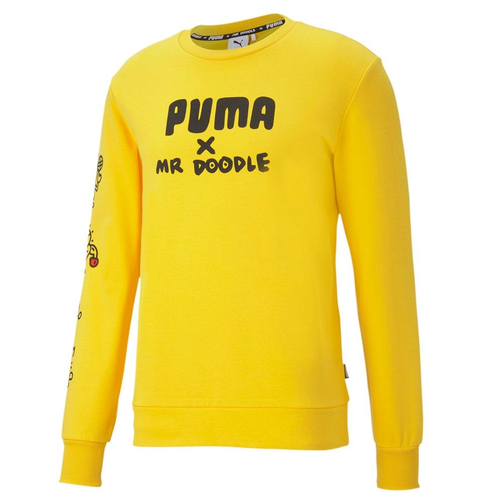 Изображение Puma Толстовка PUMA x MR DOODLE Crew Neck Sweater #1