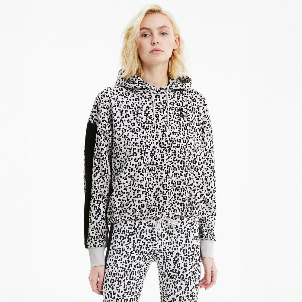 Görüntü Puma CLASSICS Kısa Kesim Kadın Kapüşonlu Sweatshirt #1