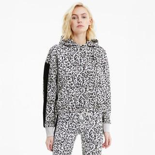 Görüntü Puma CLASSICS Kısa Kesim Kadın Kapüşonlu Sweatshirt