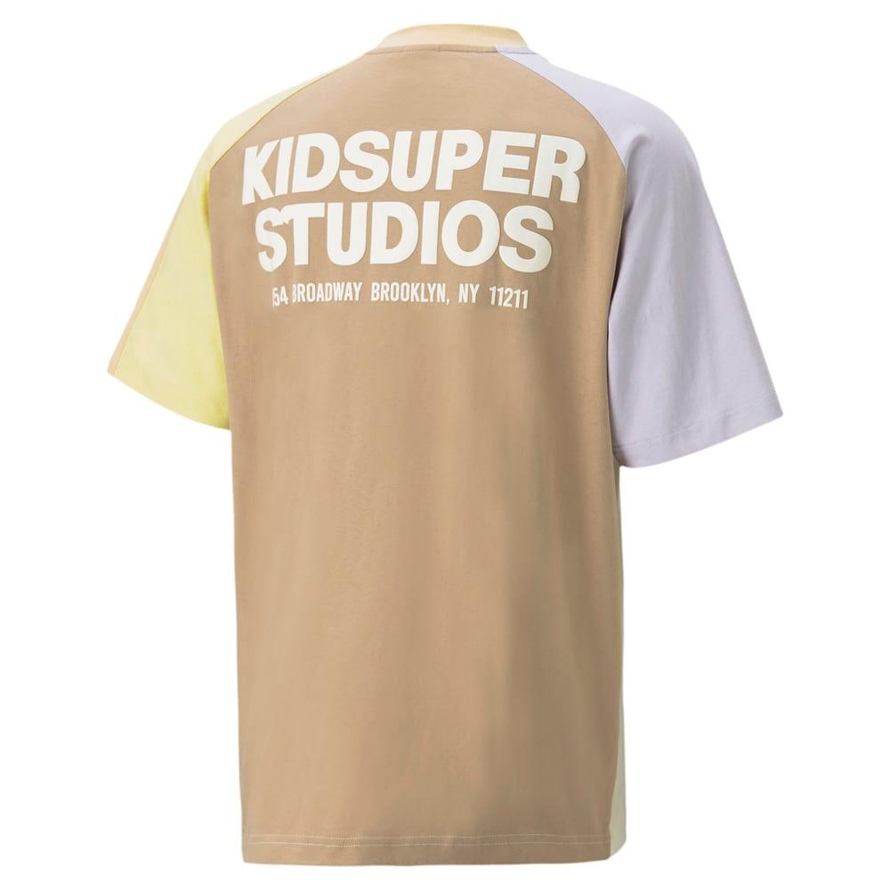 Görüntü Puma PUMA x KIDSUPER Colourblock Erkek T-shirt #2