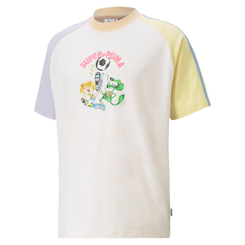 Görüntü Puma PUMA x KIDSUPER Colourblock Erkek T-shirt #1