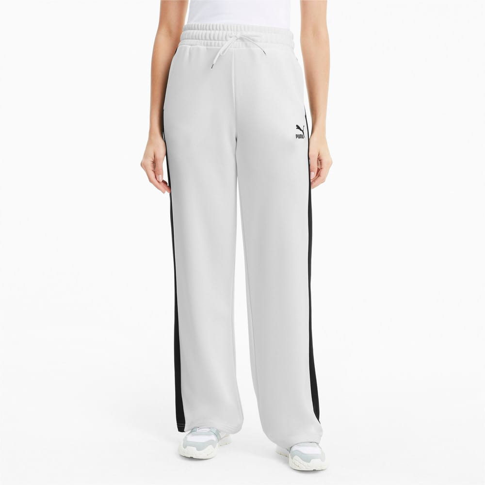 Imagen PUMA Pantalones de pierna ancha Classics para mujer #1
