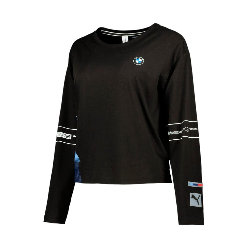 Image Puma BMW M Motorsport Long Sleeve Women's Street Tee #1