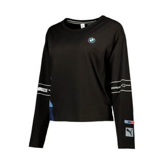 Image Puma BMW M Motorsport Long Sleeve Women's Street Tee