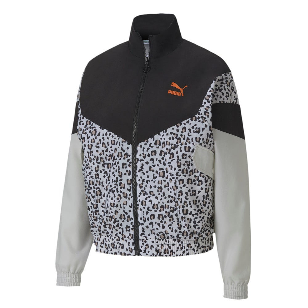 Изображение Puma Олимпийка TFS Printed Track Jacket #1