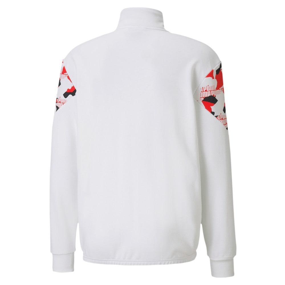 Зображення Puma Куртка Rebel Camo Full-Zip Men's Jacket #2: Puma White