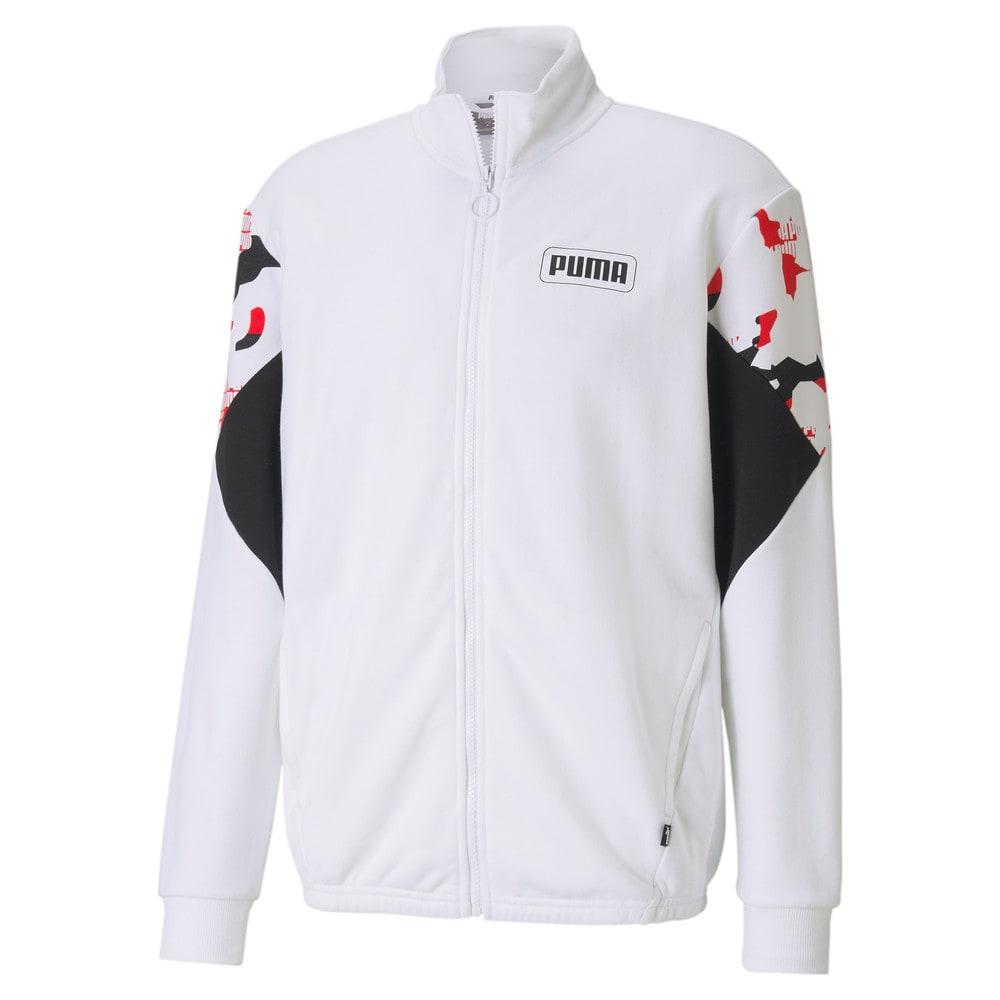 Зображення Puma Куртка Rebel Camo Full-Zip Men's Jacket #1: Puma White