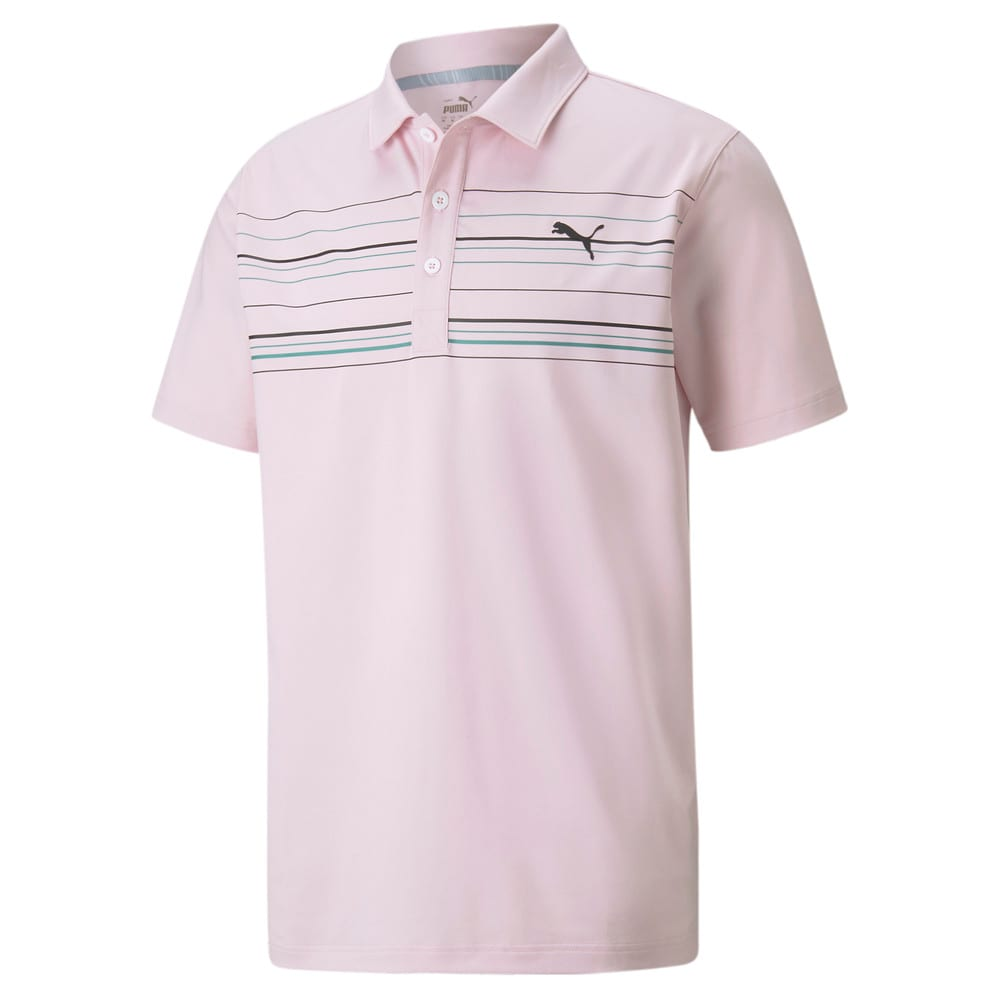 Image Puma MATTR Hazard Men's Golf Polo Shirt #1