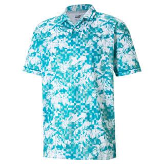 Image Puma Tech Pique Botanical Men's Golf Polo Shirt