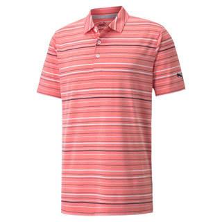 Image Puma MATTR Fine Striped Men's Golf Polo Shirt