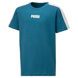 Изображение Puma Детская футболка Logo Kids' Tee