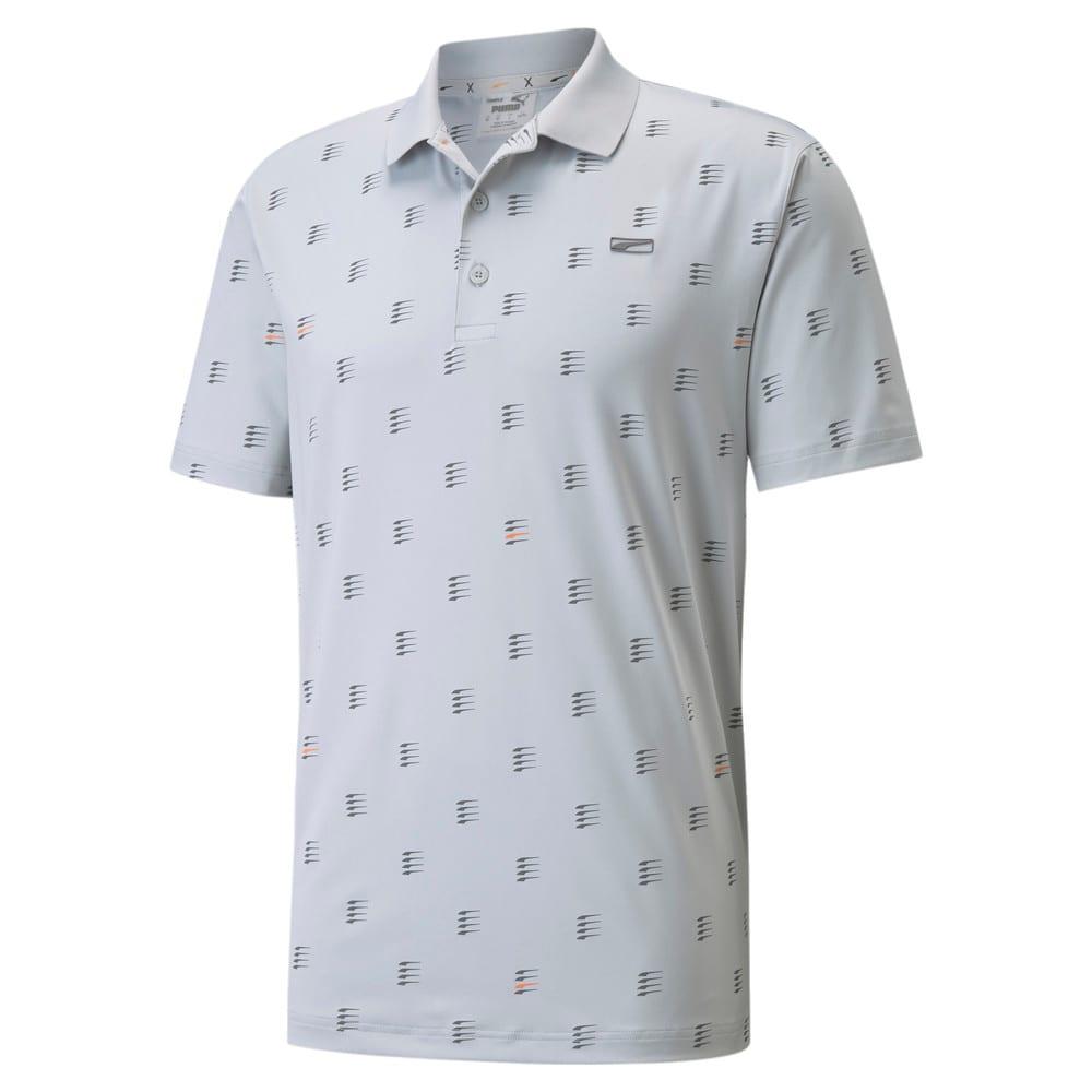 Image Puma MATTR Moving Day Men's Golf Polo Shirt #1