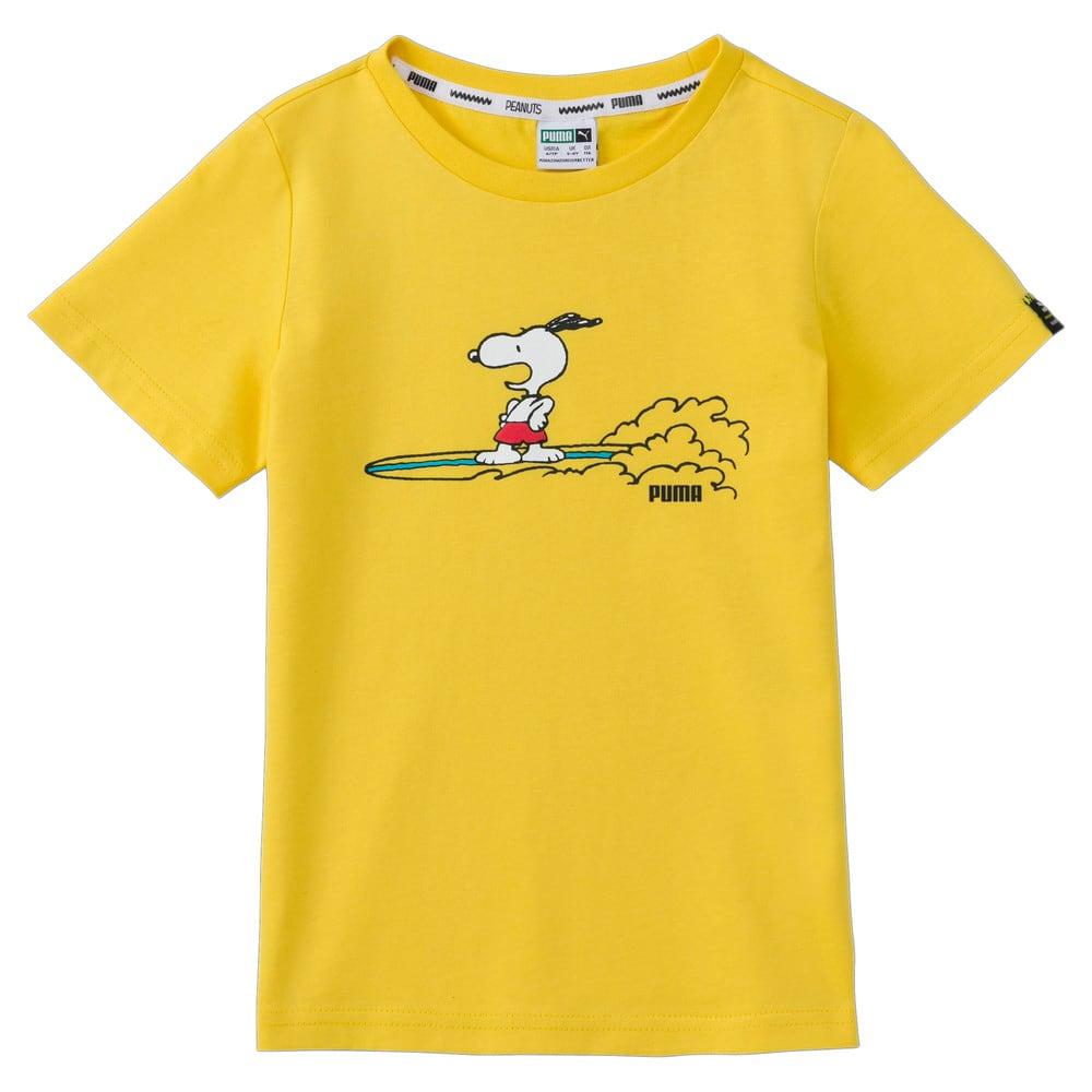 Зображення Puma Дитяча футболка PUMA x PEANUTS Kids' Tee #1