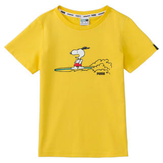 Изображение Puma Детская футболка PUMA x PEANUTS Kids' Tee