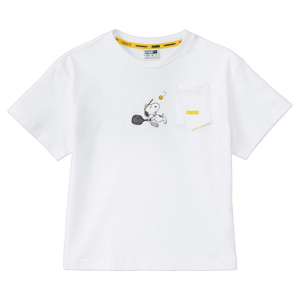 Изображение Puma Детская футболка PUMA x PEANUTS Kids' Tee #1