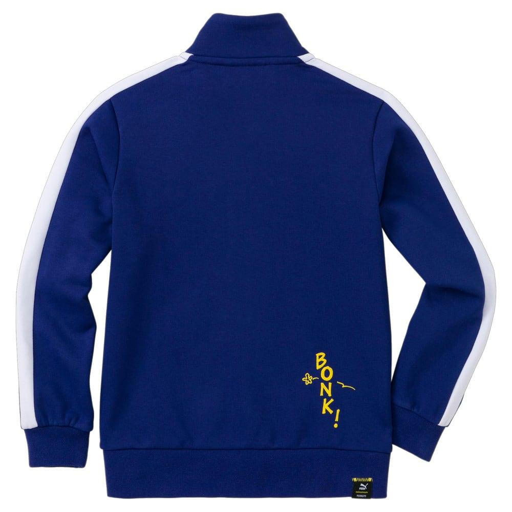 Зображення Puma Дитяча олімпійка PUMA x PEANUTS Kids' Track Jacket #2