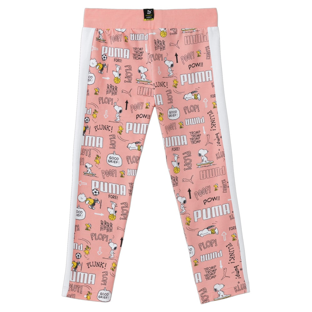 Изображение Puma Детские леггинсы PUMA x PEANUTS Kids' Leggings #2