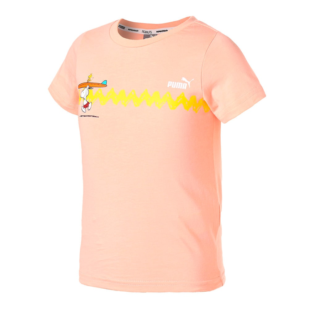 Изображение Puma Детская футболка PUMA x PEANUTS Graphic Kids' Tee #1
