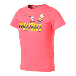 Изображение Puma Детская футболка PUMA x PEANUTS Graphic Kids' Tee