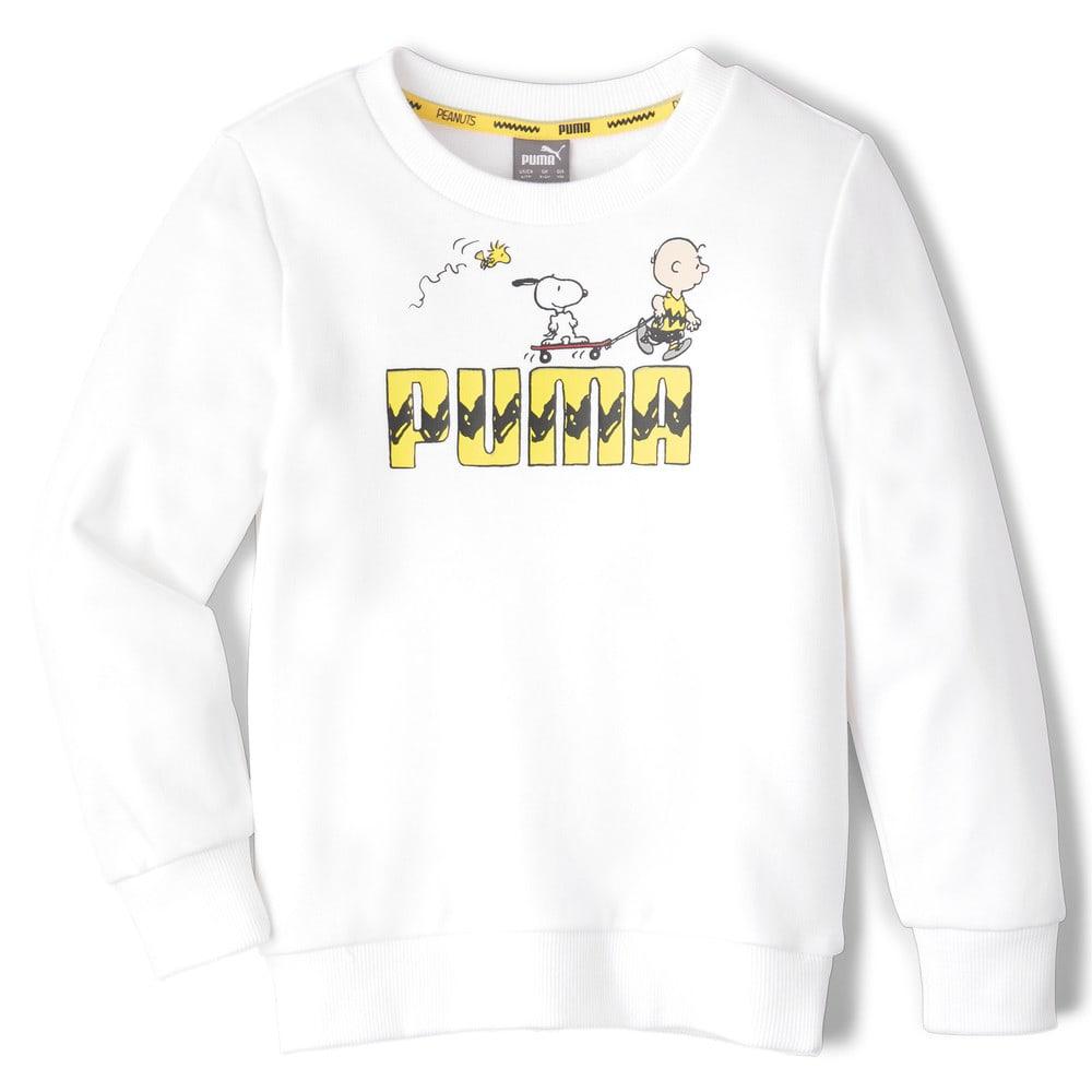 Image Puma PUMA x PEANUTS Crew Neck Kids' Sweater #1