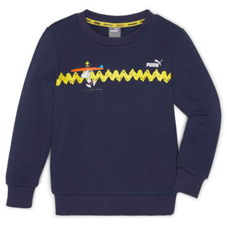 Изображение Puma Детская толстовка PUMA x PEANUTS Crew Neck Kids' Sweater
