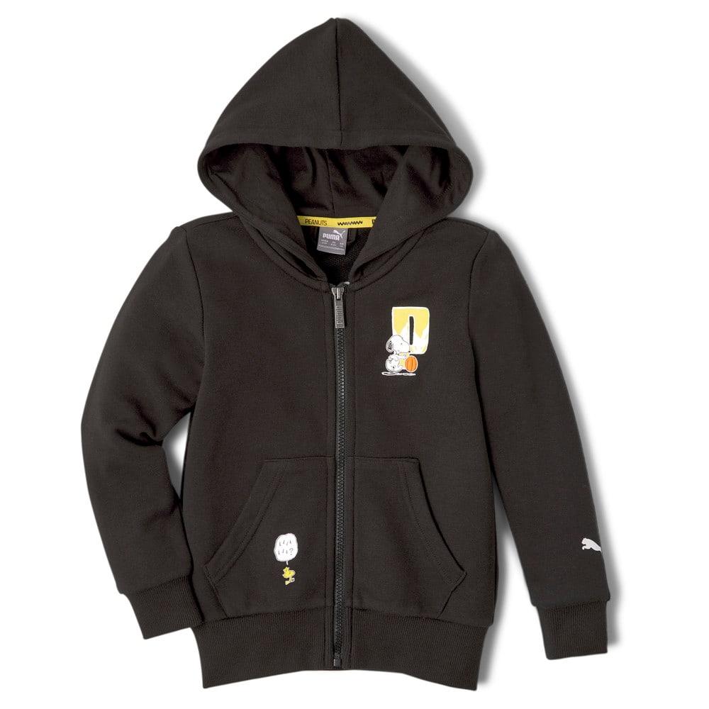 Image Puma PUMA x PEANUTS Full-Zip Kids' Hoodie #1