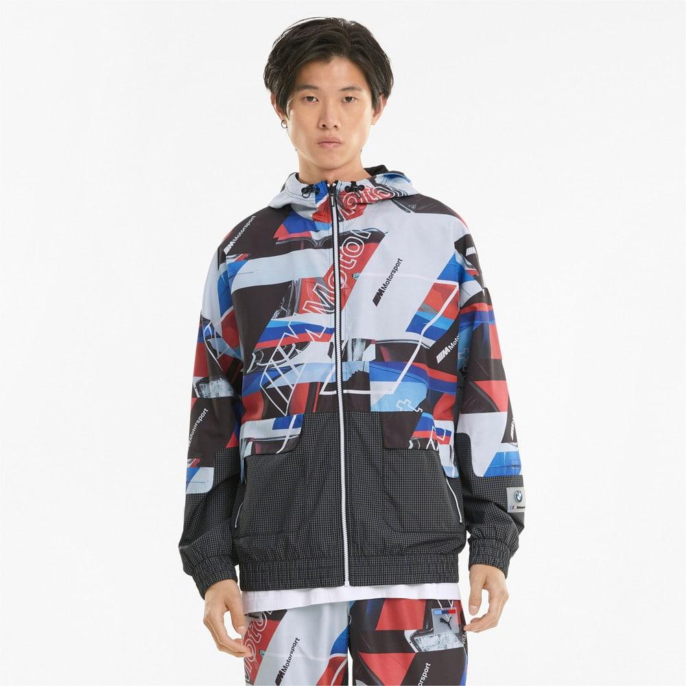 Изображение Puma Куртка BMW M Motorsport Street Printed Men's Jacket #1