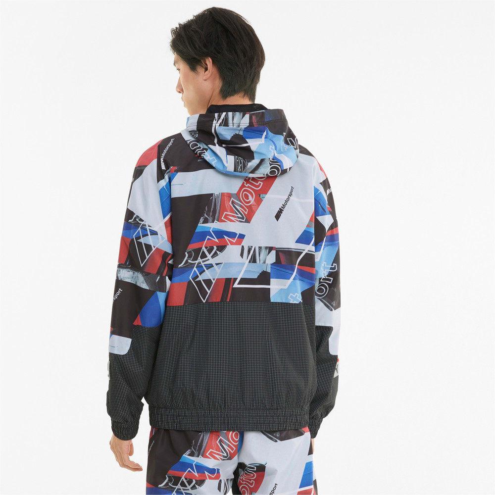Зображення Puma Куртка BMW M Motorsport Street Printed Men's Jacket #2: Puma Black