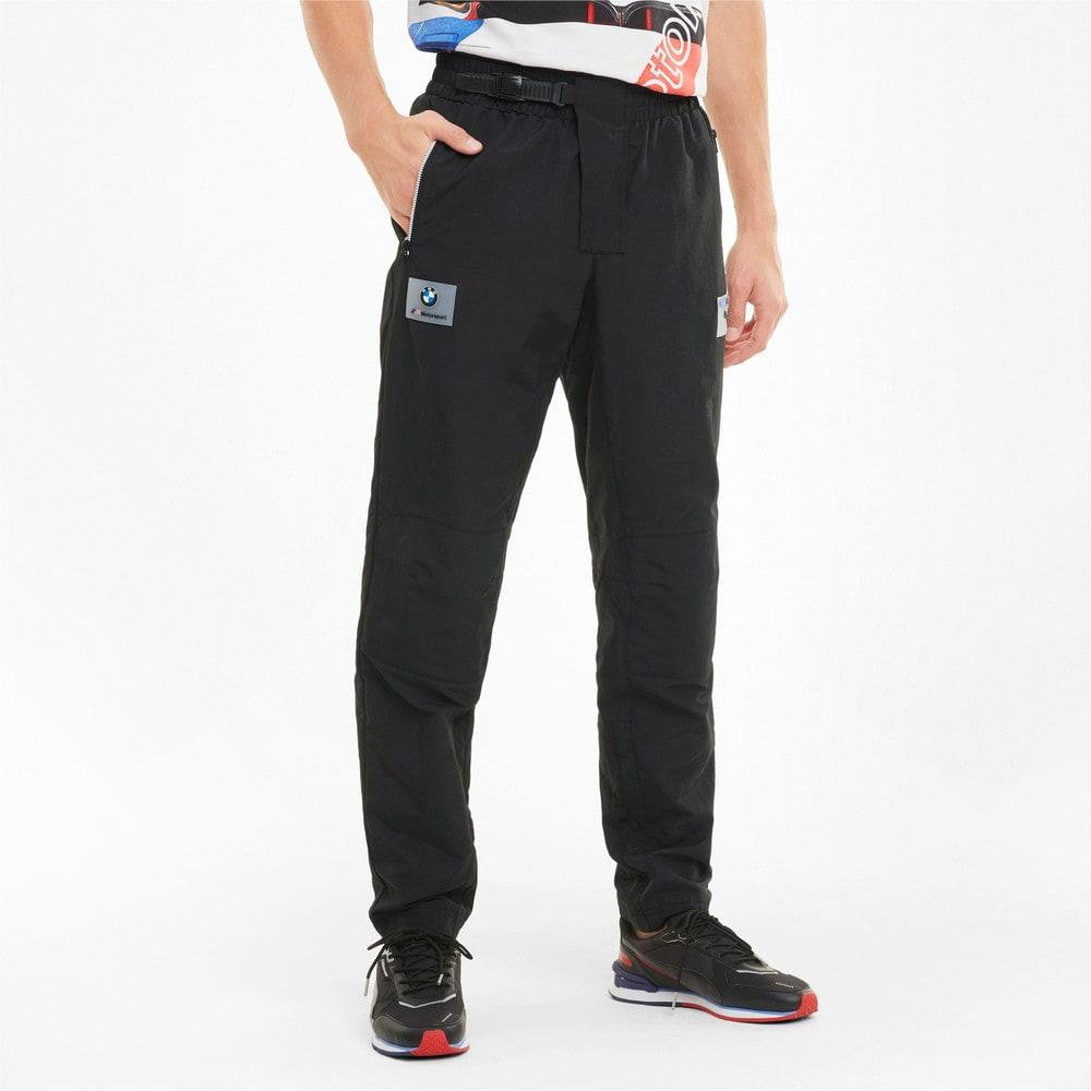 Зображення Puma Штани BMW M Motorsport Street Woven Men's Street Pants #1: Puma Black