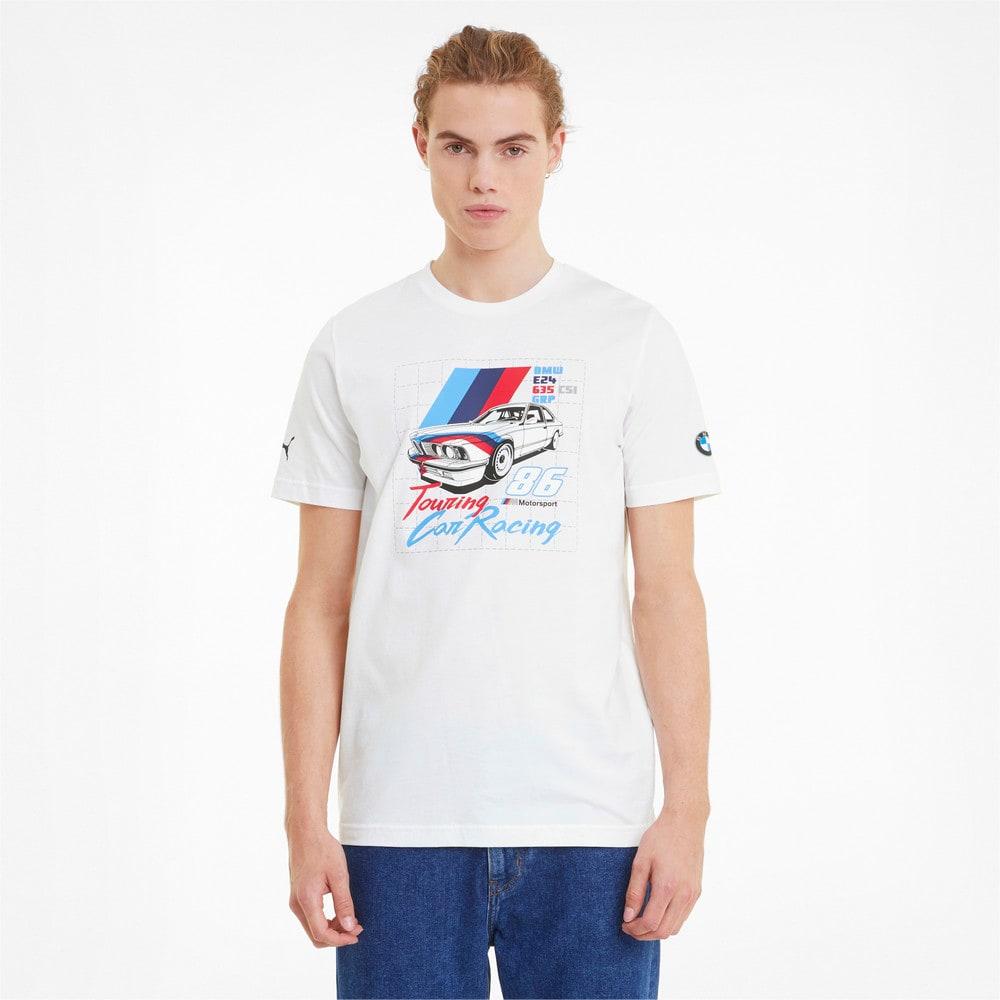 Image Puma BMW M Motorsport Vintage Men's Tee #1