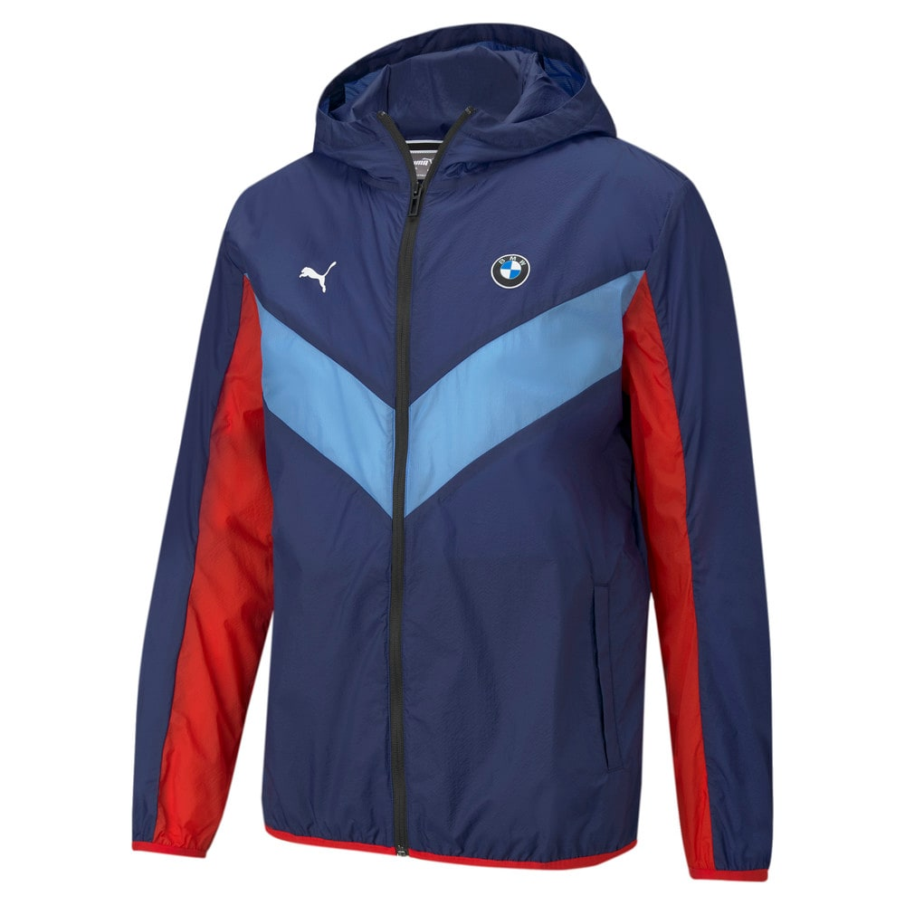 Изображение Puma Куртка BMW M Motorsport MCS City Men's Runner Jacket #1