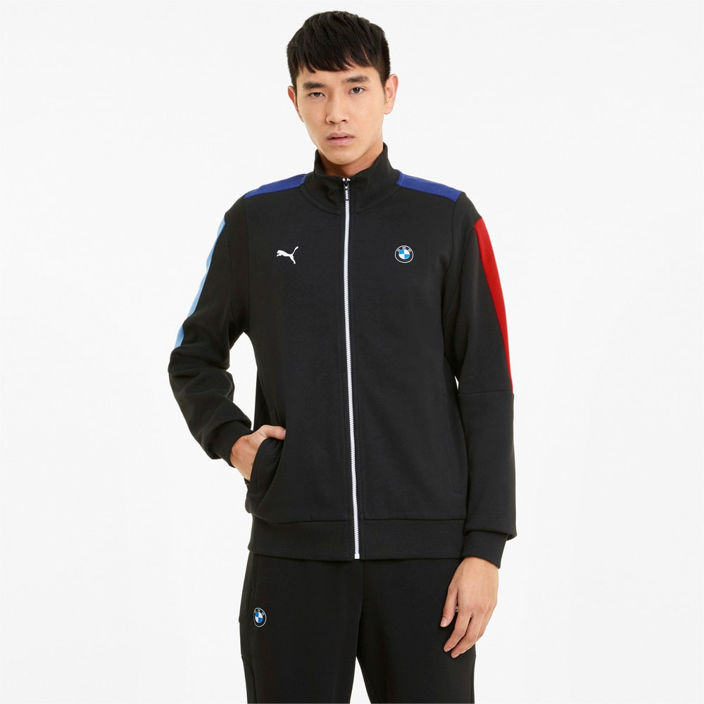 Зображення Puma Толстовка BMW M Motorsport T7 Men's Sweat Jacket #1