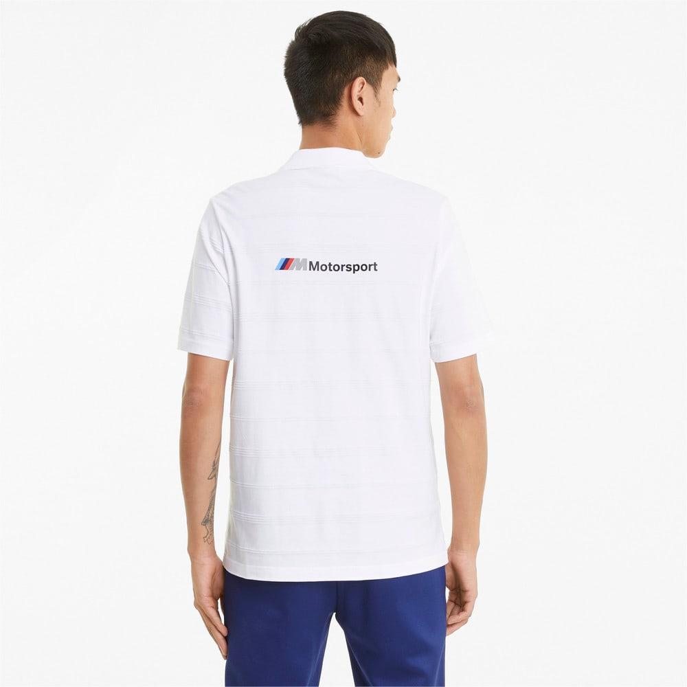 Görüntü Puma BMW M Motorsport STRIPED Erkek Polo T-shirt #2
