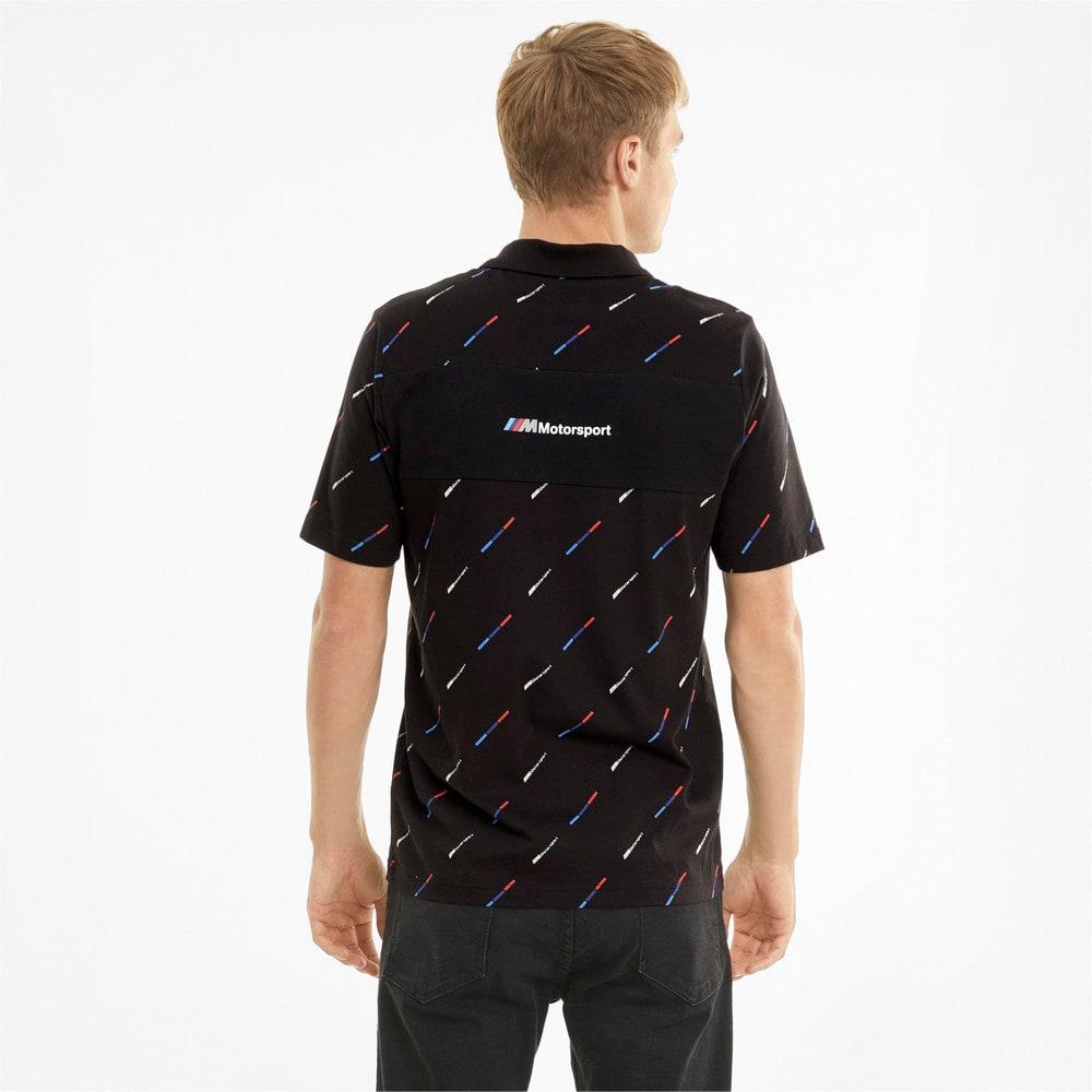 Image Puma BMW M Motorsport Printed Men's Polo Shirt #2