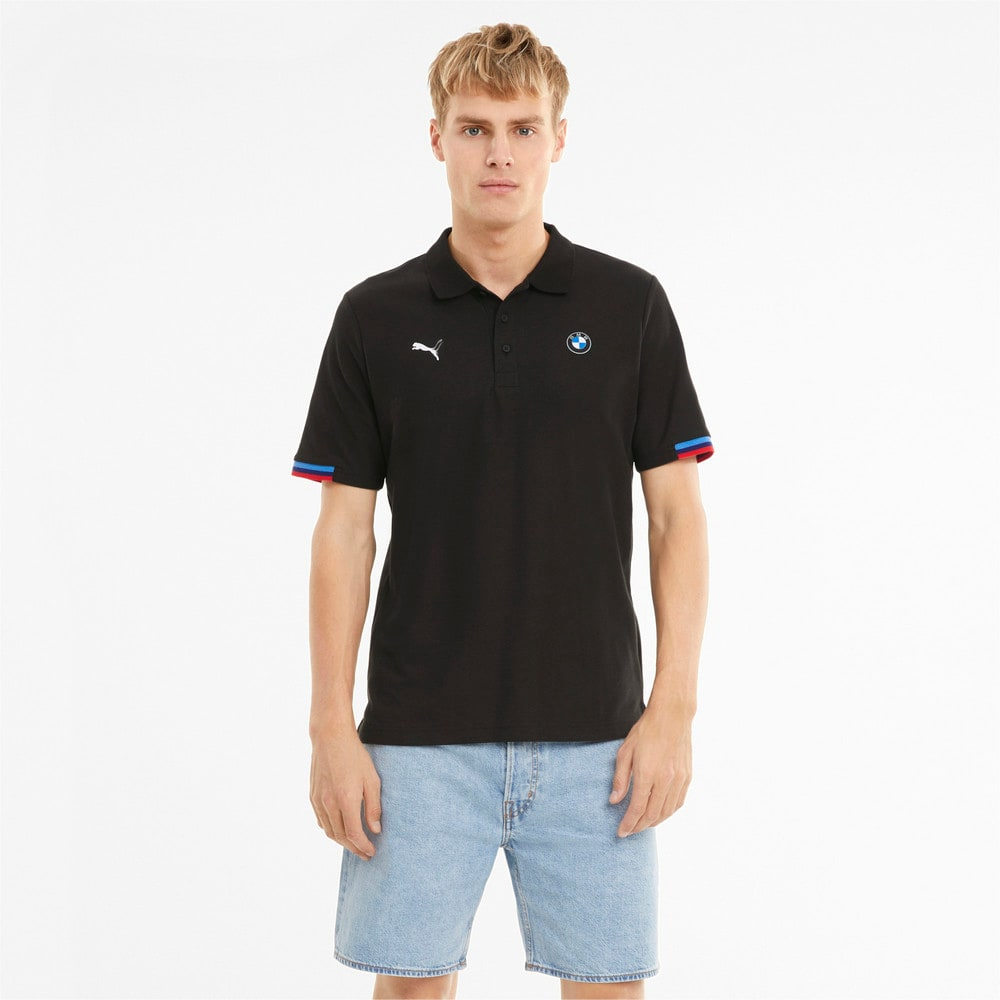 Изображение Puma Поло BMW M Motorsport Men's Polo Shirt #1