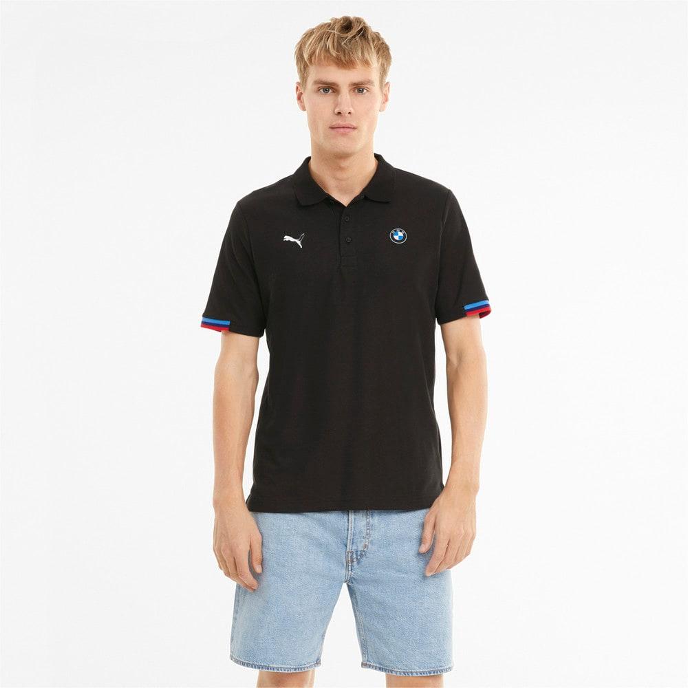 Изображение Puma Поло BMW M Motorsport Men's Polo Shirt #1: Puma Black