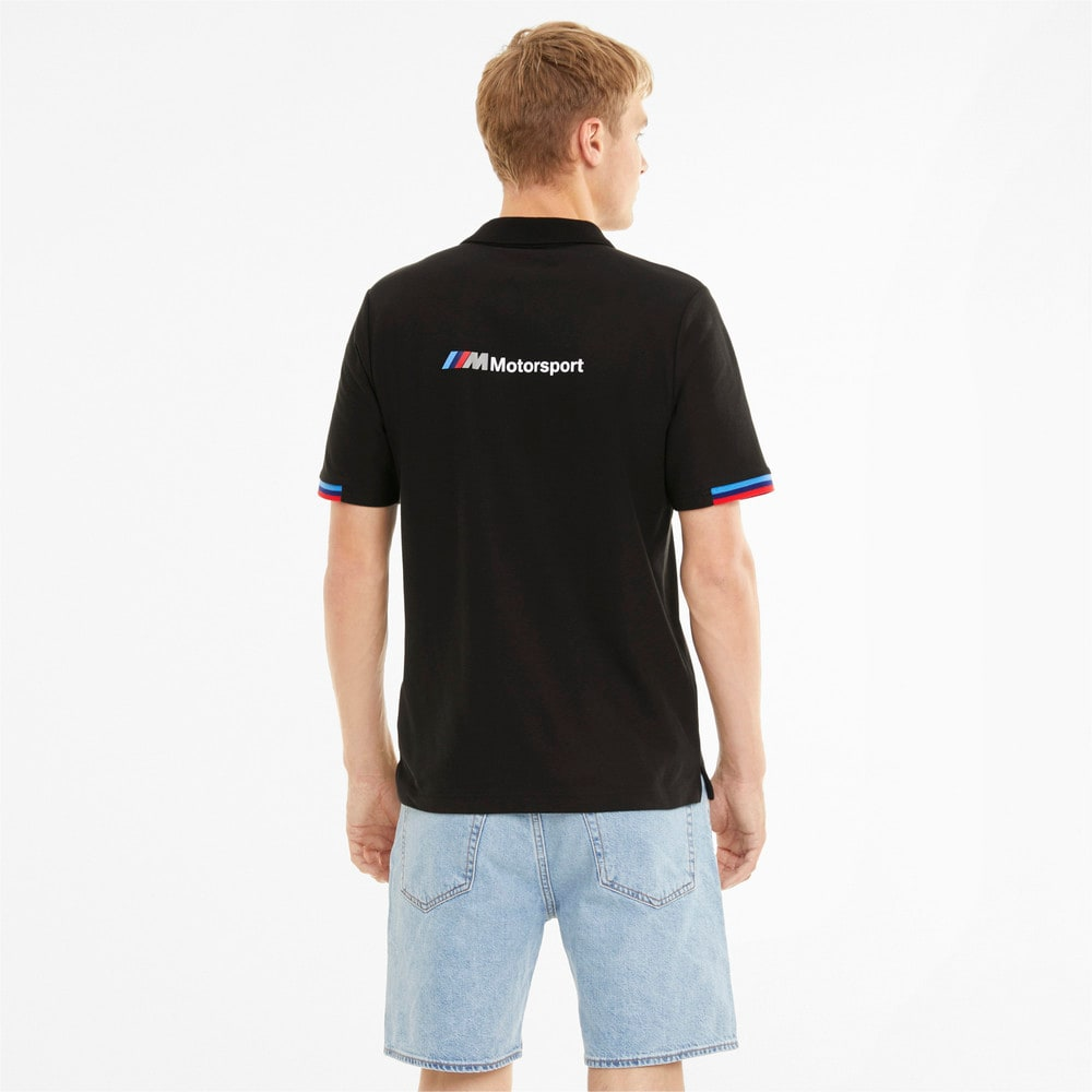 Изображение Puma Поло BMW M Motorsport Men's Polo Shirt #2