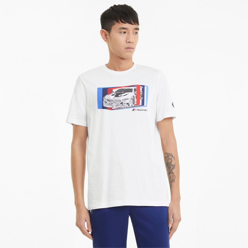 Изображение Puma Футболка BMW M Motorsport Car Graphic Men's Tee #1