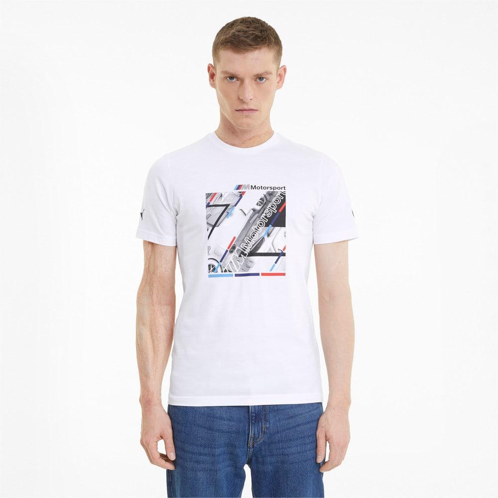 Görüntü Puma BMW M Motorsport GRAPHIC Erkek T-shirt #1