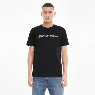 Görüntü Puma BMW M Motorsport Logo Erkek T-shirt
