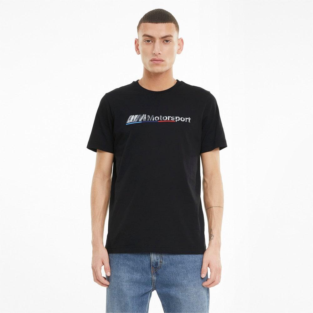 Изображение Puma Футболка BMW M Motorsport Logo Men's Tee #1