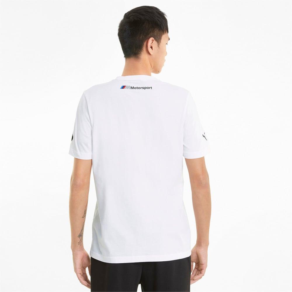 Görüntü Puma BMW M Motorsport Logo Erkek T-shirt #2