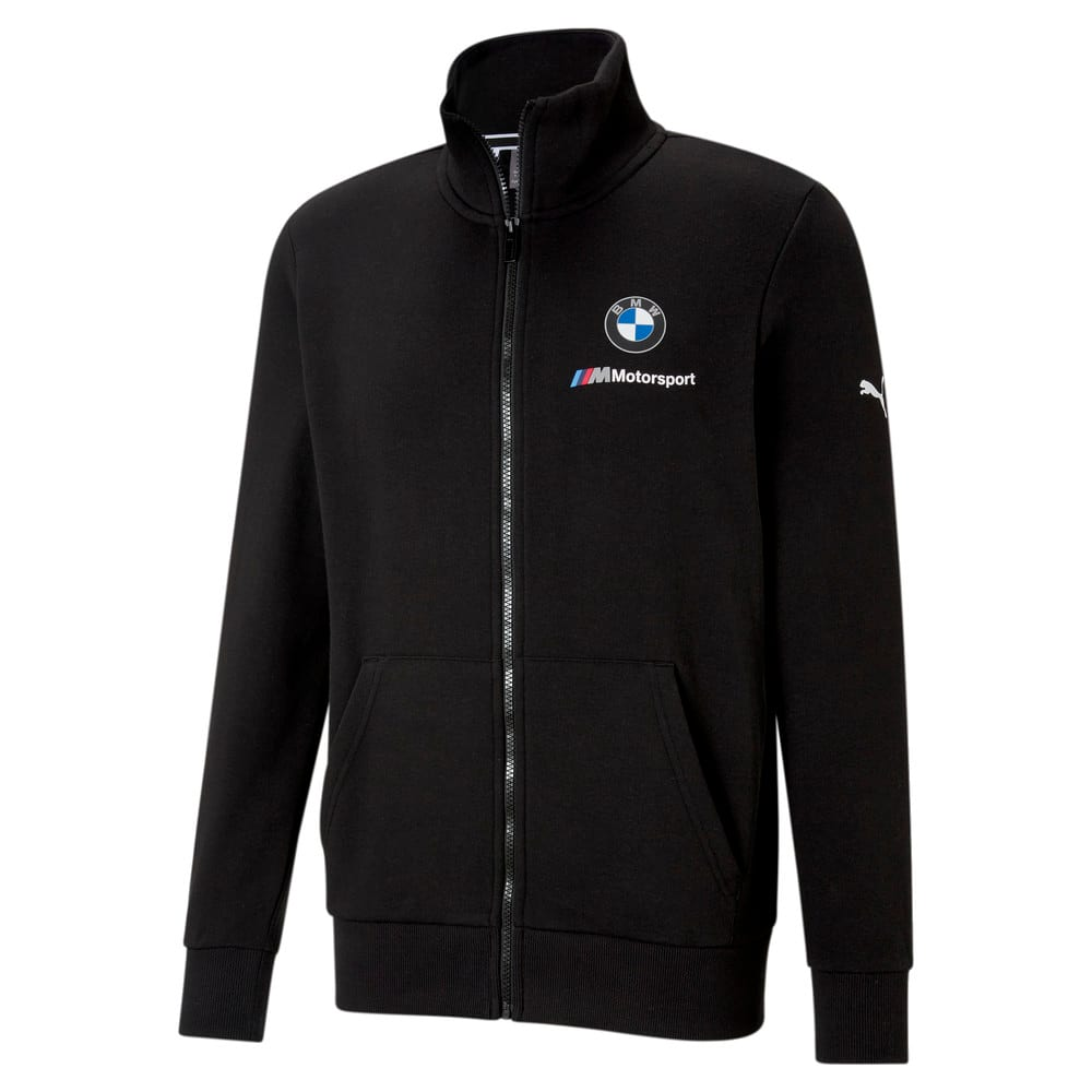 Изображение Puma Толстовка BMW M Motorsport Essentials Men's Sweat Jacket #1