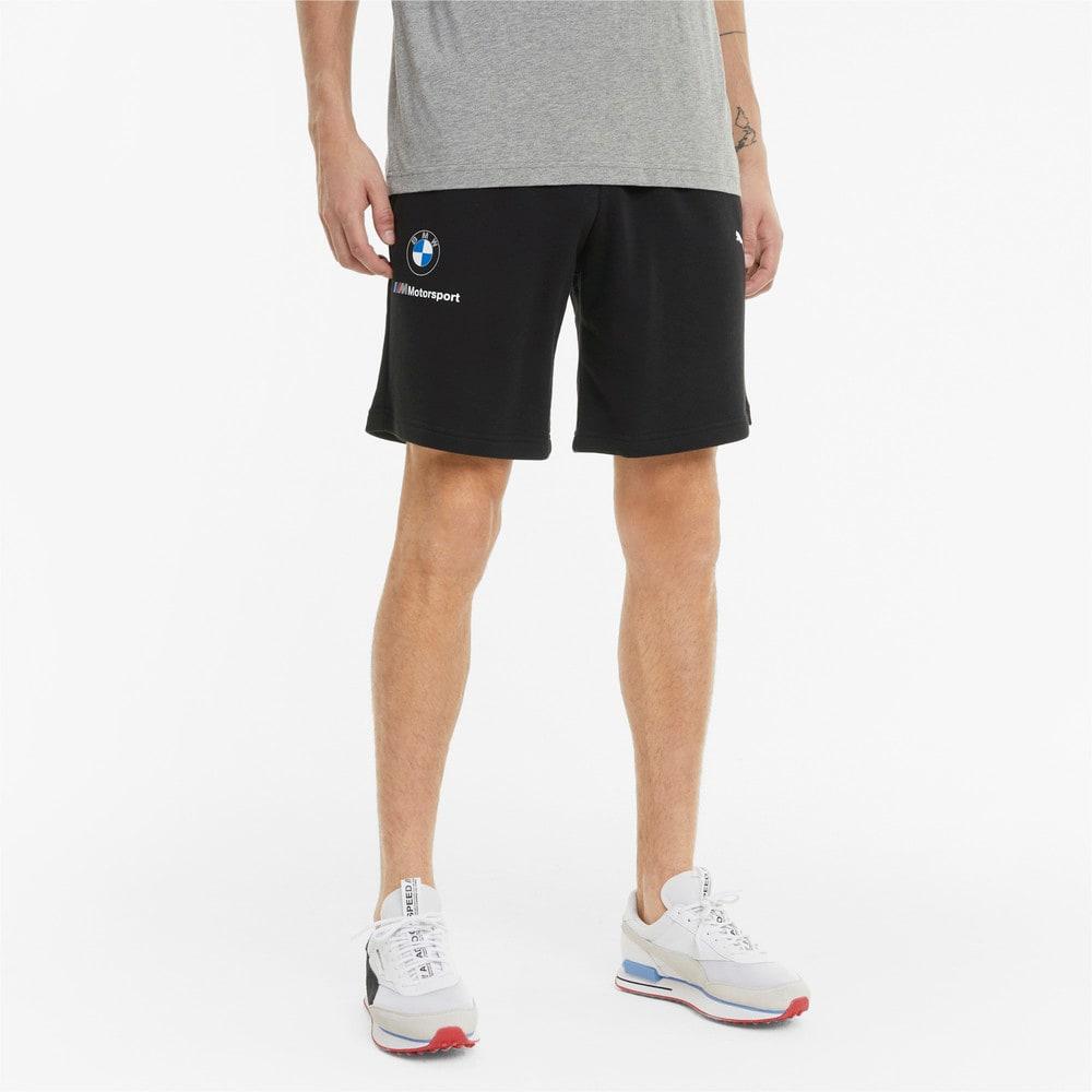 Зображення Puma Шорти BMW M Motorsport Essentials Men's Sweat Shorts #1