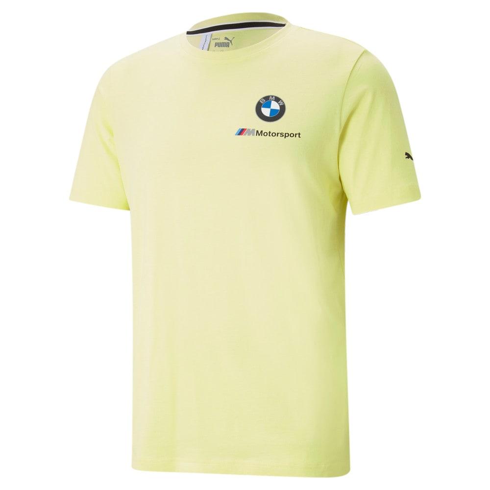 Image Puma BMW M Motorsport Essentials Small Logo Men's Tee #1